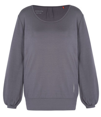 Asquith Yoga Long Sleeve Smooth You - Deep Grey