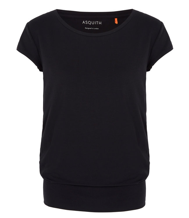 Asquith Yoga Shirt Smooth You - Black