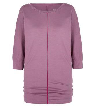 Asquith Yoga Shirt Be Grace Batwing - Heather/Fuchsia