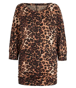 Asquith Yoga Shirt Be Grace Batwing - Leopard