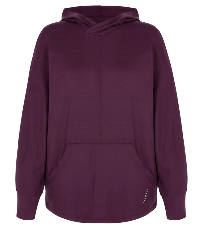 Asquith Mellow Yoga Hoody - Berry