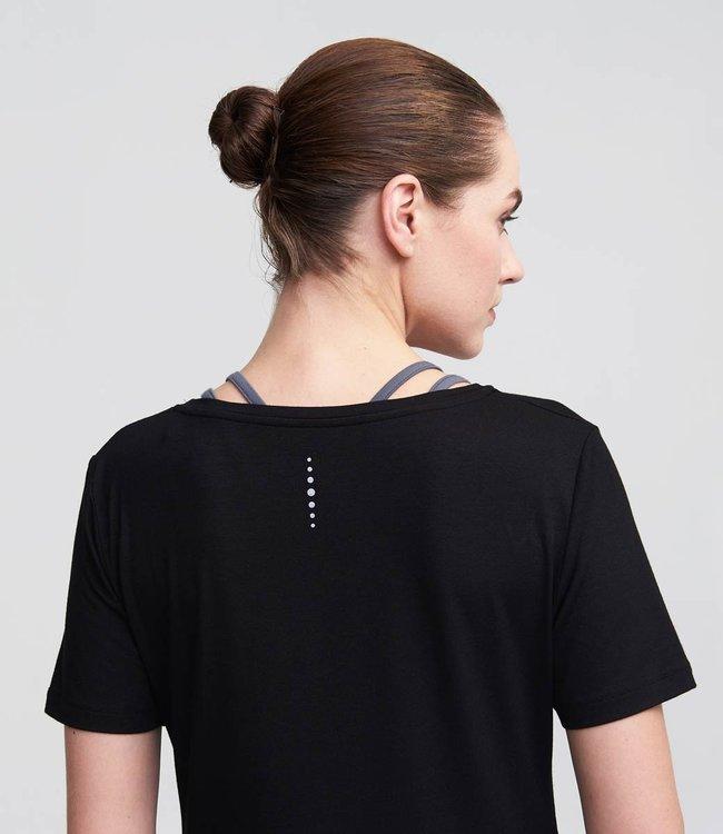 Asquith Yoga Shirt Bend It - Black/Deep Grey