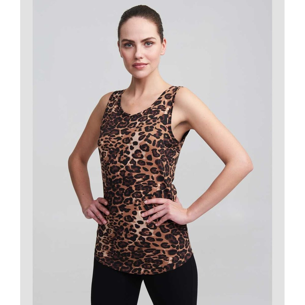 Asquith Yoga Top Go To - Leopard