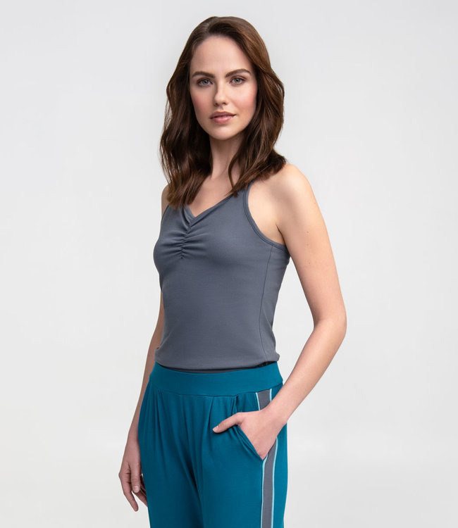 Asquith Yoga Top Conquer Cami - Deep Grey