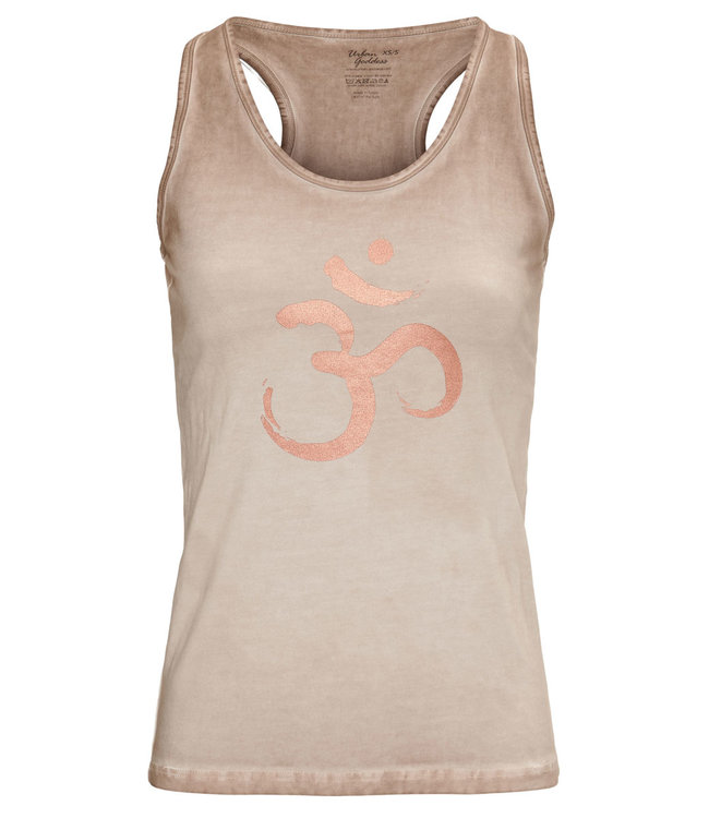 Urban Goddess Yoga Tank Top OM - Off Earth