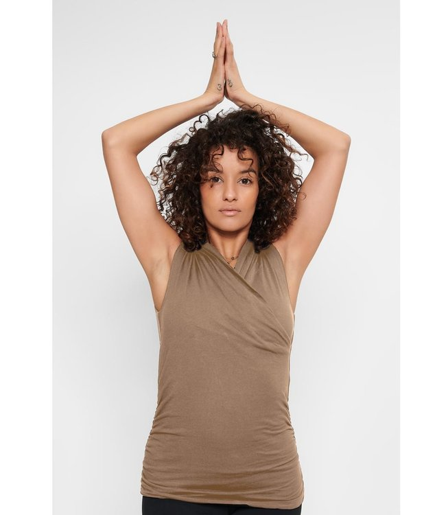 Urban Goddess Yoga Top Good Karma - Earth