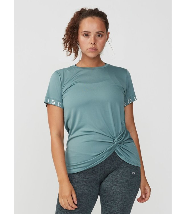 Rohnisch Yoga Shirt Knot Tee - Sea Green