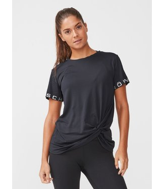 Rohnisch Yoga Shirt Knot Tee - Black