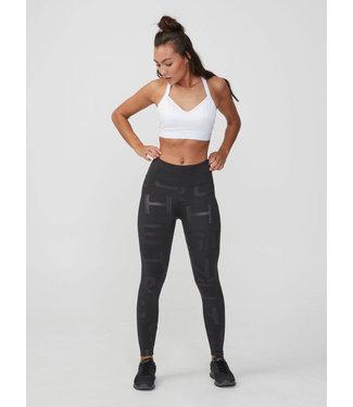 Rohnisch Yoga Legging Logo Gloss - Black