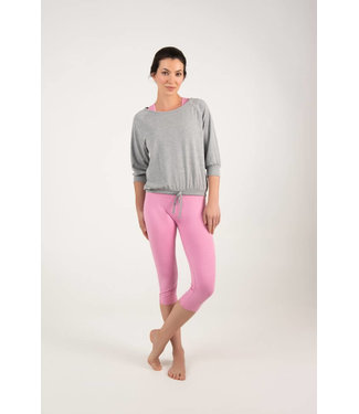 Asquith Yoga Shirt Embrace - Pale Grey