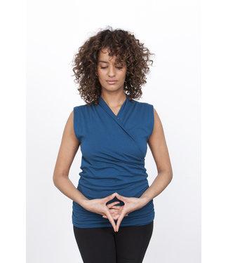 Urban Goddess Yoga Top Good Karma - Blue Universe
