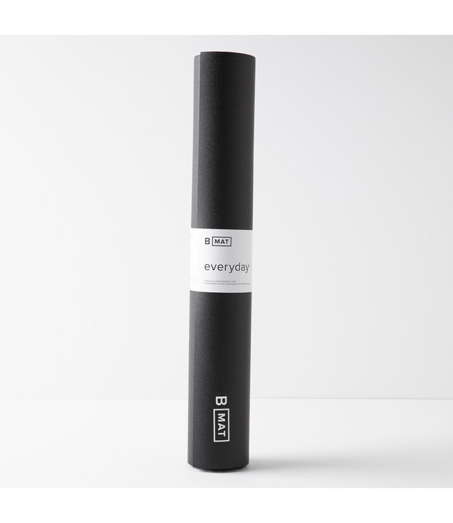 B Yoga Yoga Mat Everyday - Black 4 mm
