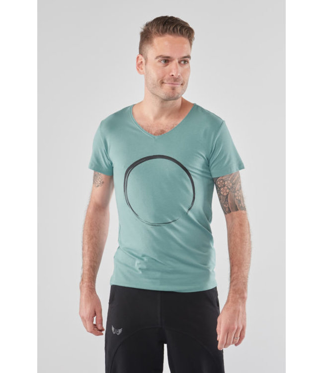 Renegade Guru Yoga Shirt Moksha Zen - Sea Green