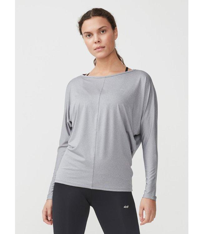 Rohnisch Yoga Shirt Drape - Grey Melange