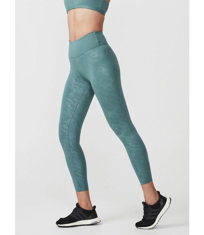 Rohnisch Yoga Legging Gloss Effect - Green