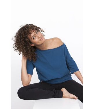 Urban Goddess Yoga Tunic Bhav - Blue Universe