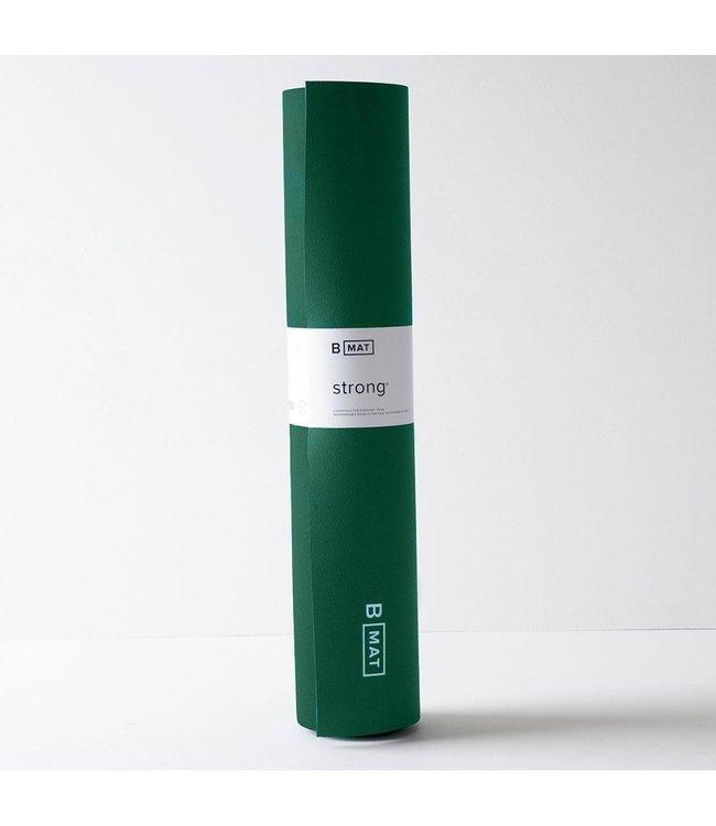 B Yoga Yoga Mat Strong - Jasper Green 6 mm