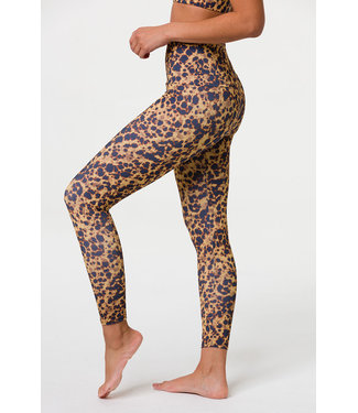Onzie High Rise Midi Legging - Tortoise Shell