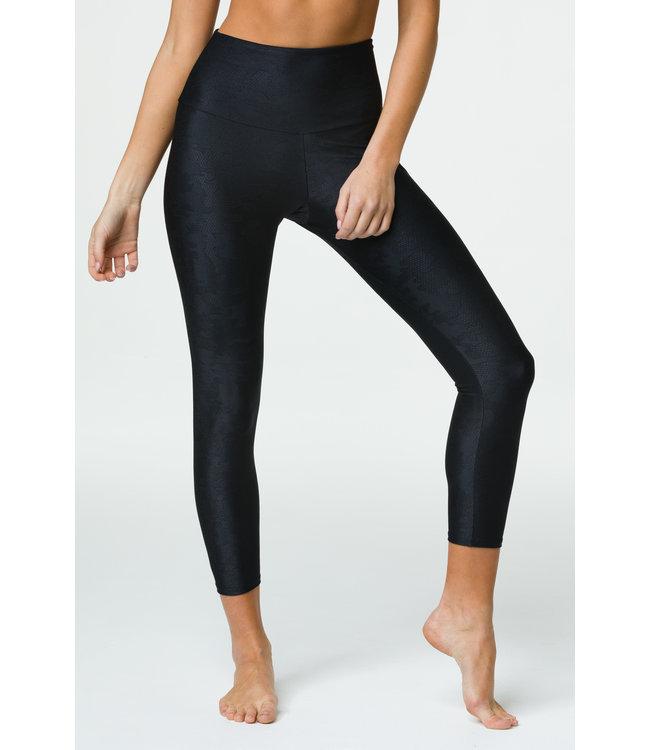 Onzie Jacquard Midi Legging - Black