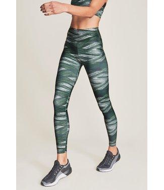 Rohnisch Flattering Keira Printed Legging - Green Mist