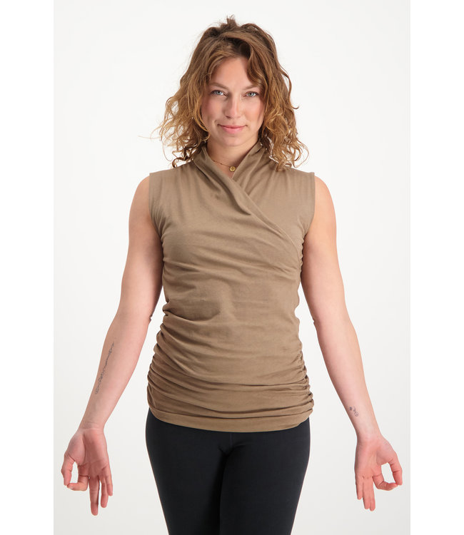 Urban Goddess Yoga Top Good Karma - Inca Cacao
