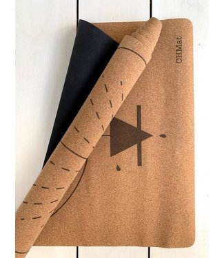 OHMat Yoga mat Wisdom Cork Travel 2 mm