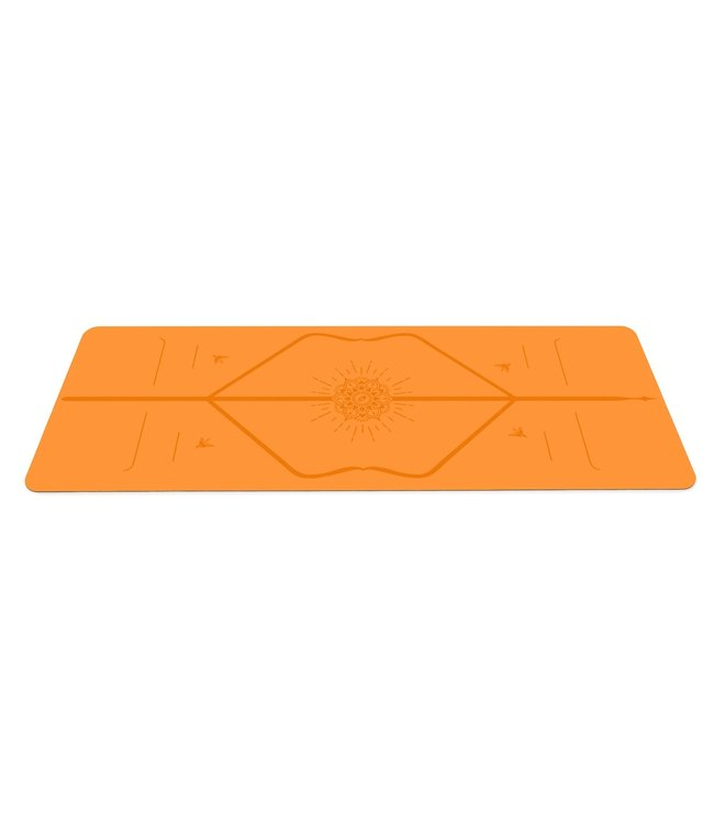 Liforme Happiness Yoga Mat - Orange 4,2 mm