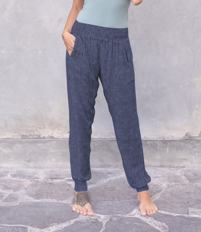 Jaya Yoga Pants Ananda - Blue/Grey