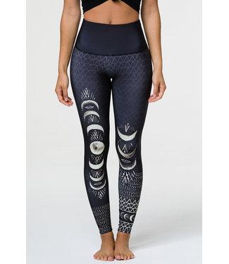 Onzie High Rise Graphic Legging - Las Lunas