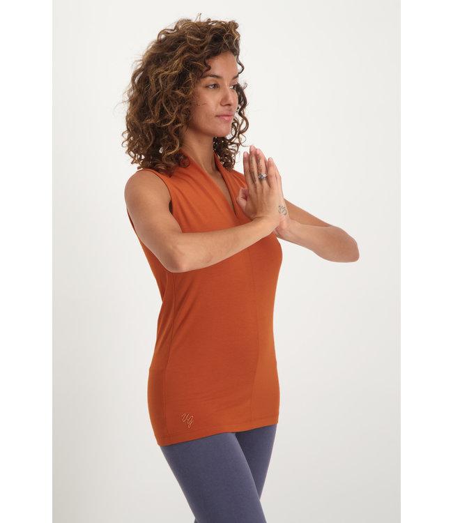 Urban Goddess Yoga Top Mudra - Rust