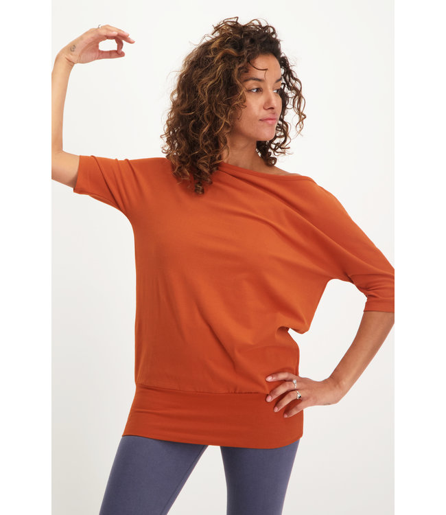 Urban Goddess Yoga Tunic Bhav - Rust