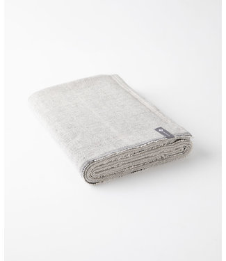 Halfmoon Handgeweven Yoga Deken - Carbon Weave