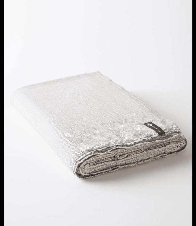 Halfmoon Handgeweven Yoga Deken - Stone Weave