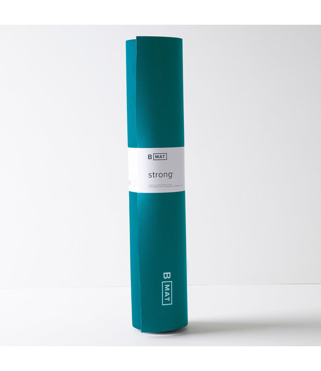 B Yoga Yoga Mat Strong Extra Long - Ocean Green - 6 mm