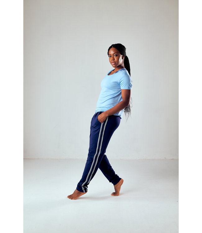 Asquith Yoga Shirt Smooth You - Cool Blue