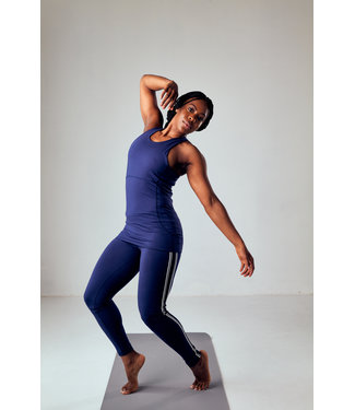 Asquith Yoga Top Radiance Racer - Midnight