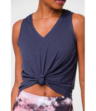 Onzie Yoga Knot Shirt - Ombre Blue