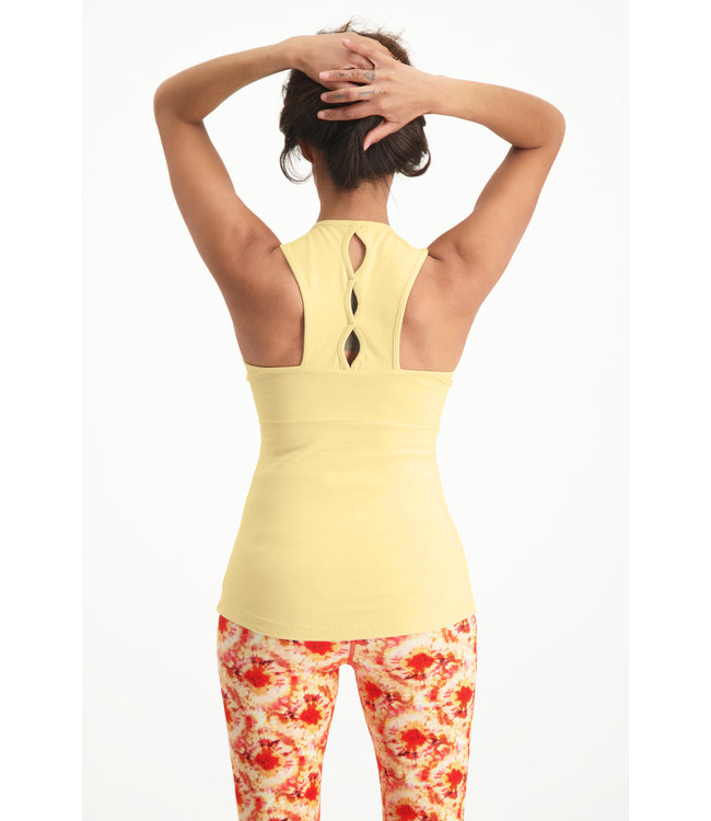 Urban Goddess Bliss Yoga Top - Honeysuckle