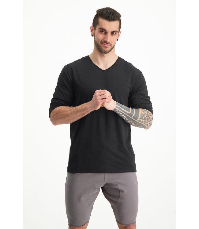 Renegade Guru Longsleeve Yoga Shirt Rudra - Urban Black