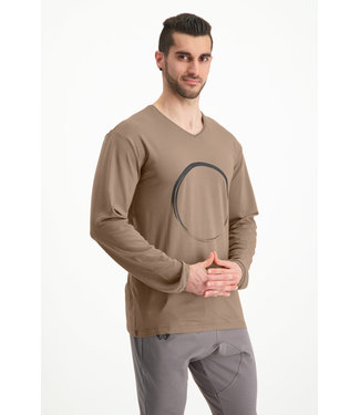 Renegade Guru Longsleeve yoga shirt Rudra - Inca Cacao