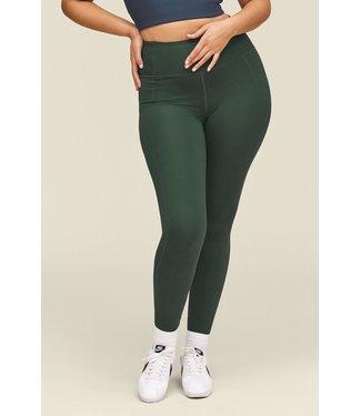 Girlfriend Collective Compressive High-Rise Yoga Legging - Moss