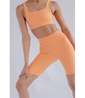 Girlfriend Collective High-Rise Yoga Shorts - Horizon