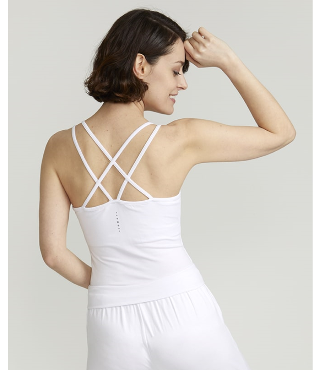 Asquith Yoga Top Conquer Cami - Wit