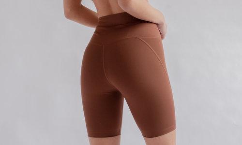 yoga shorts en capri's