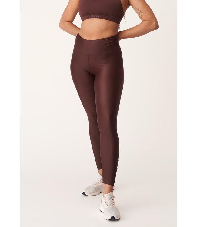Rohnisch Yoga Legging Asana - Bitter Brown