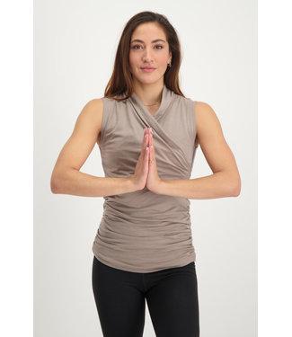 Urban Goddess Yoga Top Good Karma - Earth