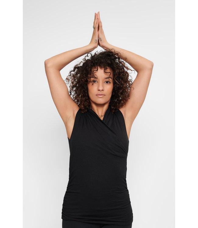 Urban Goddess Yoga Top Good Karma - Urban Black