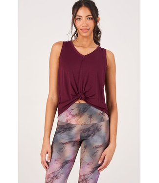 Onzie Yoga Knot Shirt - Fig