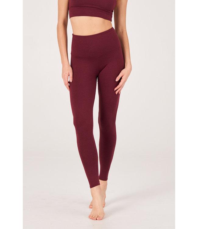 Onzie Luxe Yoga Legging - Red Wine