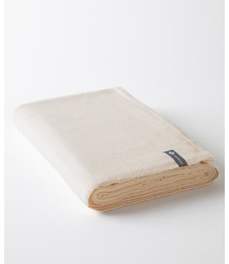 Halfmoon Cotton Yoga Blanket - Natural